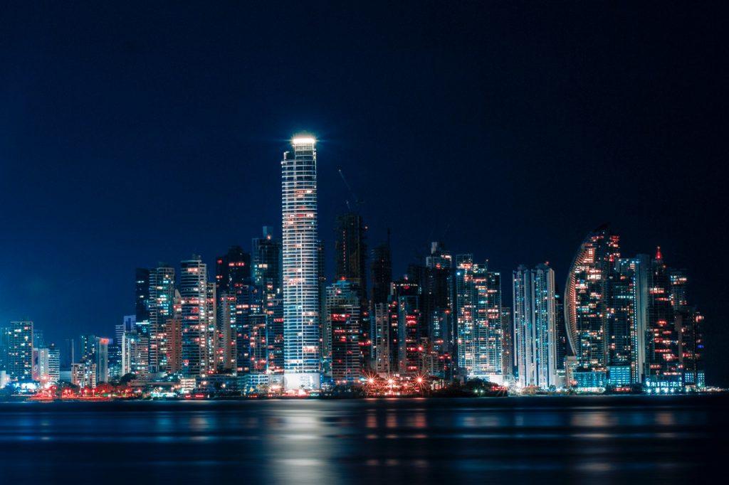 bright lights city